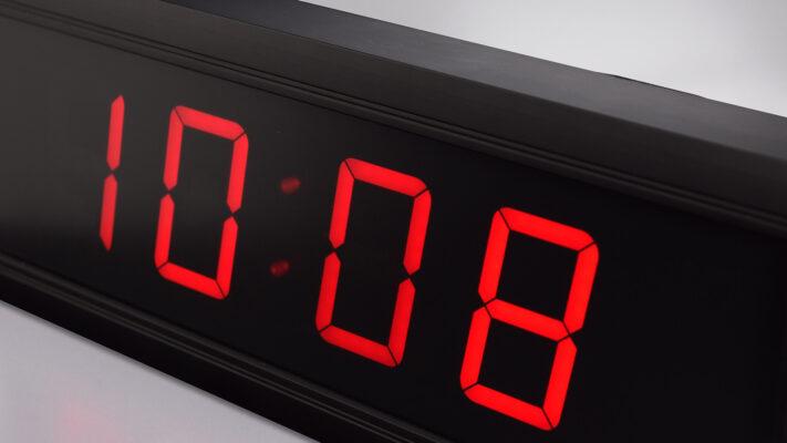Цифровые часы серии DC