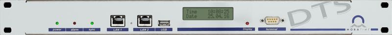 Серверы DTS c функциями первичных часов