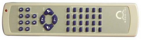 Инфракрасный пульт ДУ для программирования часов и управления секундомером